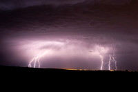 Lightning over Walla Walla Valley