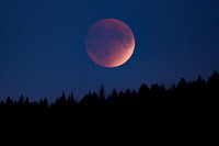 Super Blood-Moon 2015 Eclipse