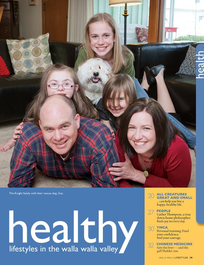 Walla Walla Lifestyles Health Section TOC