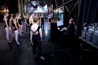 Summer Dance Lab - American Theater rehearsing A Chorus Line with Tinka Gutrick Dailey